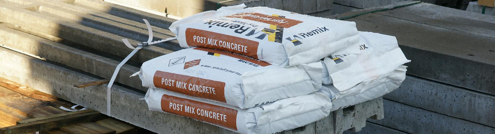 How Do I Use Post Mix Concrete?